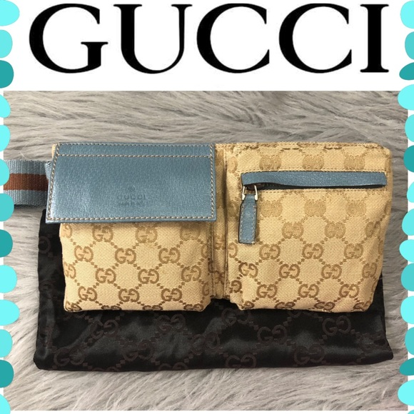 Gucci Handbags - Authentic Gucci Monogram Fanny Pack
